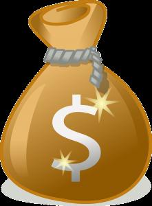 bag, money, wealth